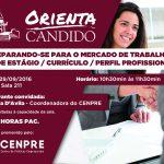 Orienta Candido Cartaz Mercado de trabalho 1