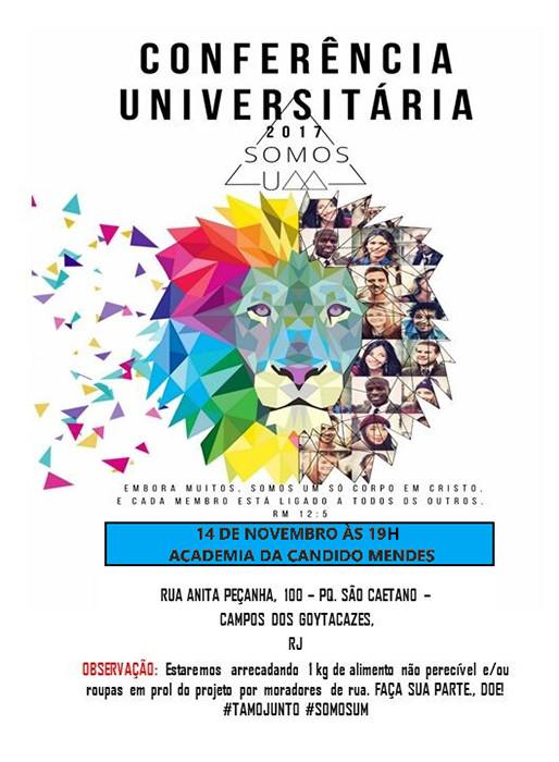 Culto promovido pelo Grupo de Oração Universitário Geração Alive acontece na terça – 14 de novembro