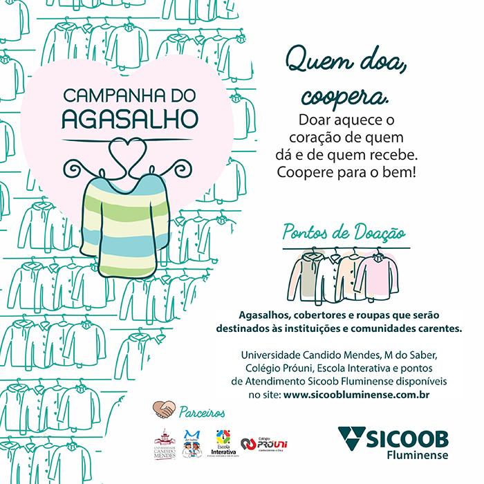 Participe da Campanha do Agasalho de 2018