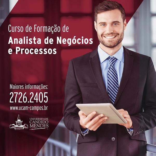 Abertas inscrições para nova turma do curso de Formação de Analista de Negócios e Processos
