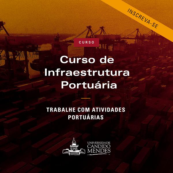 Curso de Infraestrutura Portuária na Candido Mendes