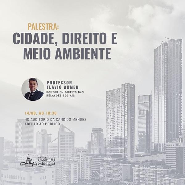 Direito da Cidade em foco na aula inaugural do Mestrado em Planejamento Regional e Gestão de Cidades